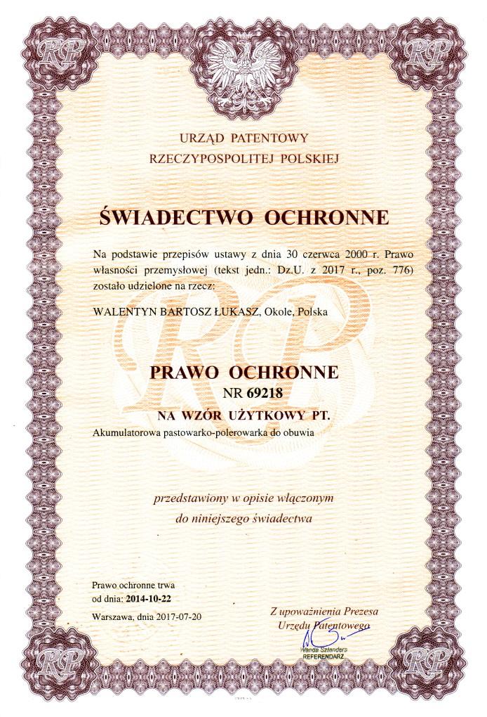 pastowarka_swiadectwo_ochronne